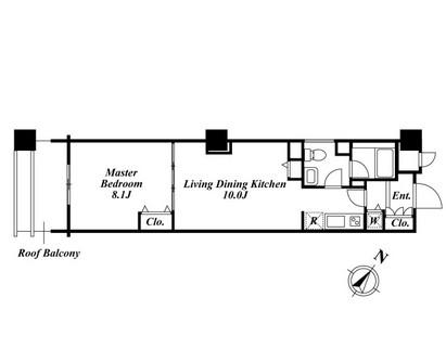 アクロス目黒タワー 505号室
