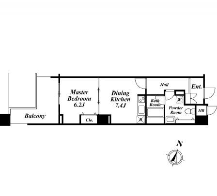 アクロス目黒タワー 704号室