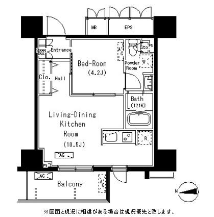 パークアクシス元浅草ステージ1412号室