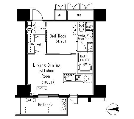 パークアクシス元浅草ステージ314号室