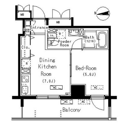 パークアクシス元浅草ステージ402号室