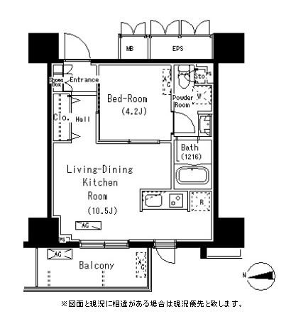 パークアクシス元浅草ステージ414号室