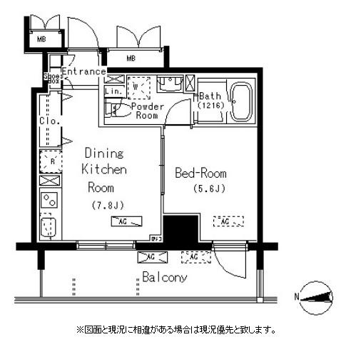 パークアクシス元浅草ステージ502号室