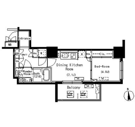 パークアクシス元浅草ステージ507号室