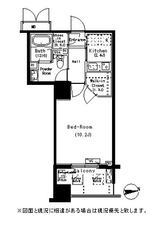 パークアクシス元浅草ステージ811号室