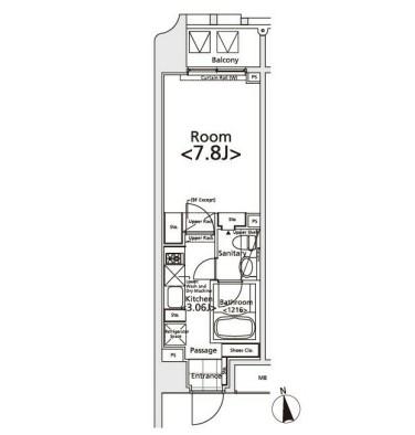 イプセ新宿若松町301号室