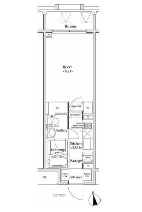 イプセ新宿若松町902号室