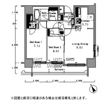 パークアクシス浅草橋401号室