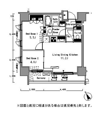 パークアクシス浅草橋703号室