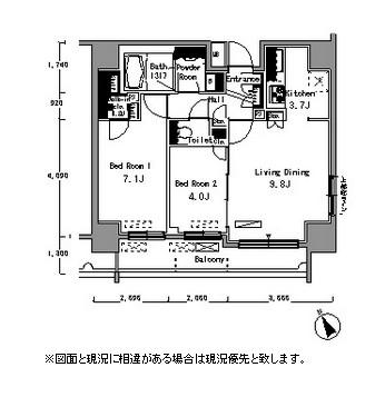 パークアクシス浅草橋801号室