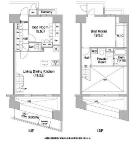 コンフォリア芝浦バウハウス1401号室