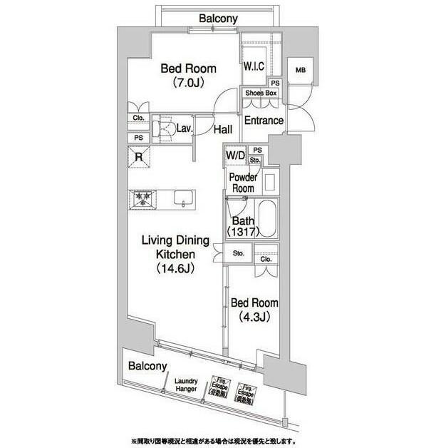 コンフォリア芝浦バウハウス1006号室