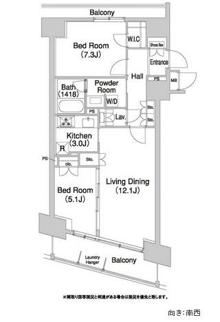 コンフォリア芝浦バウハウス503号室