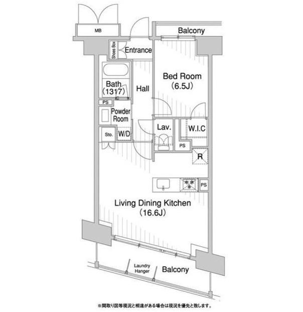 コンフォリア芝浦バウハウス904号室