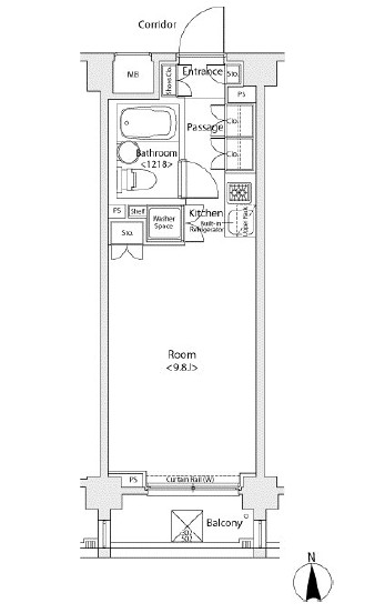 イプセ蒲田WEST308号室