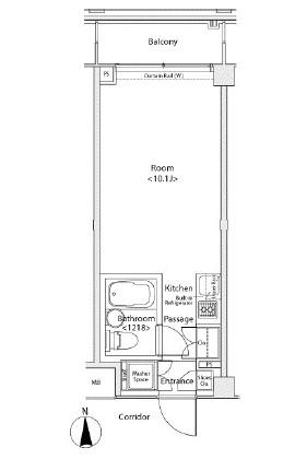 イプセ蒲田WEST316号室