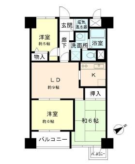 グランドメゾン田町1302号室