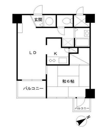 グランドメゾン田町709号室