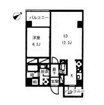 ヴォアラクテ西早稲田317号室