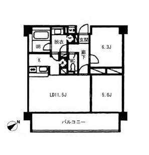 ヴォアラクテ西早稲田502号室