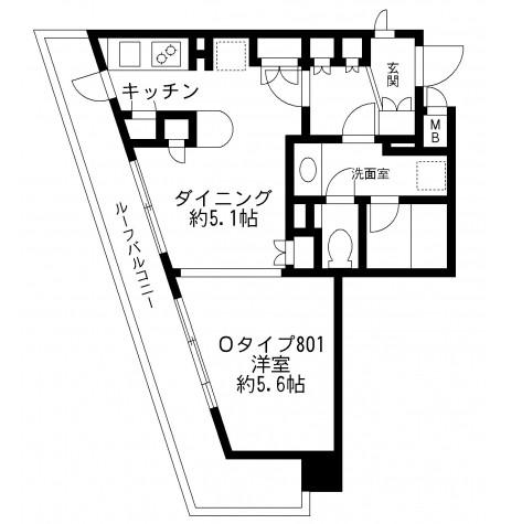 プライムアーバン番町801号室