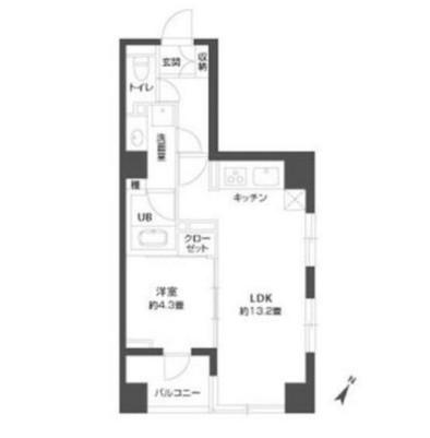 パークキューブ銀座イースト407号室