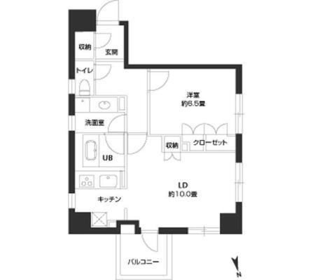 パークキューブ銀座イースト701号室