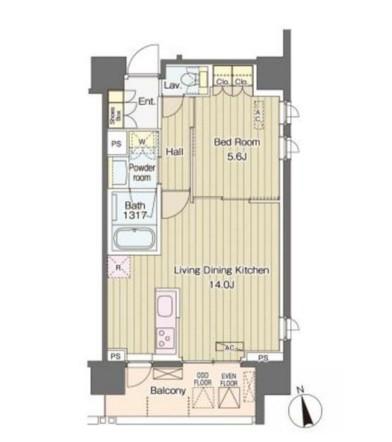 ヴェルデコート西新宿804号室