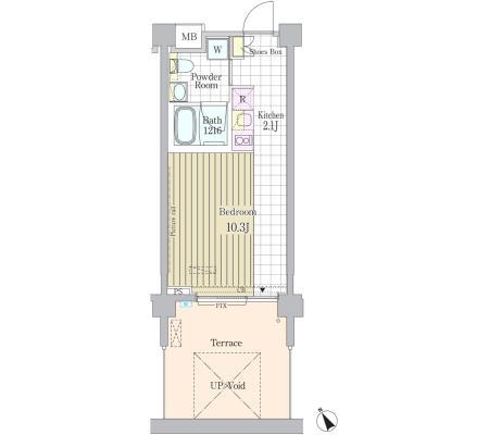 ガーデン原宿103号室