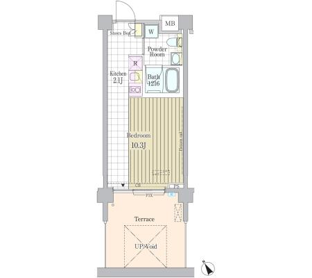 ガーデン原宿104号室
