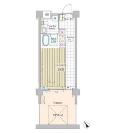 ガーデン原宿105号室