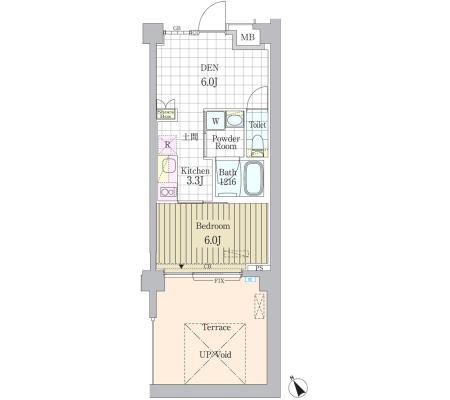 ガーデン原宿106号室