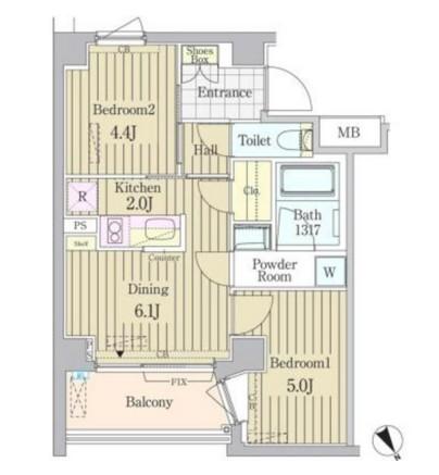 ガーデン原宿207号室