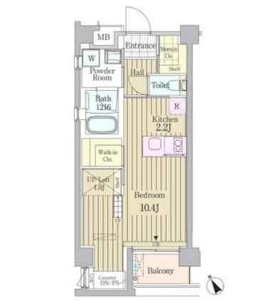 ガーデン原宿301号室