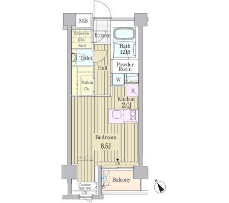 ガーデン原宿305号室