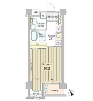 ガーデン原宿403号室