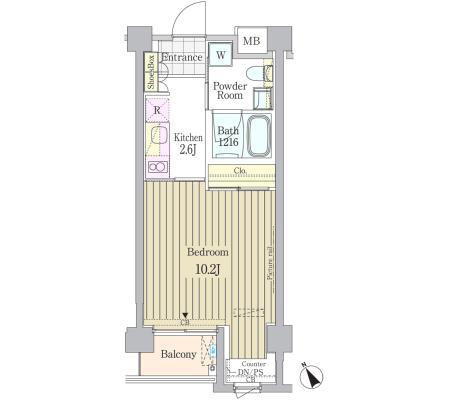 ガーデン原宿404号室