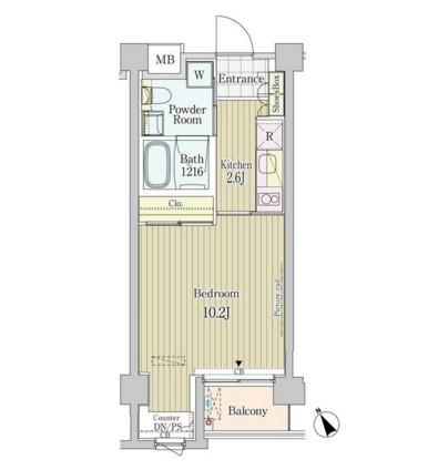 ガーデン原宿405号室