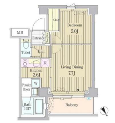 ガーデン原宿408号室