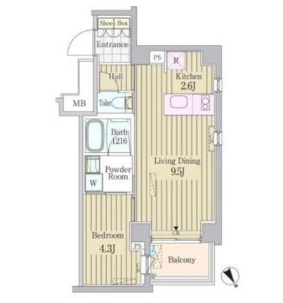 ガーデン原宿410号室