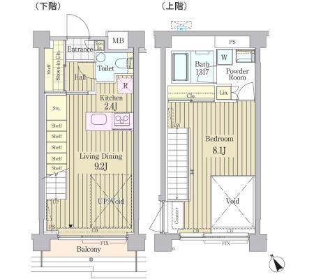 ガーデン原宿502号室