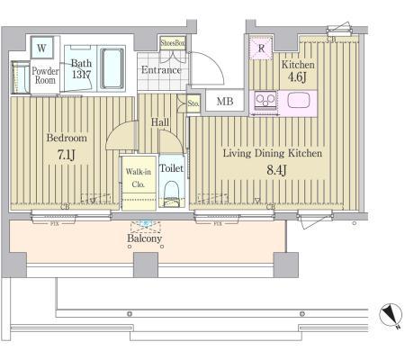 ガーデン原宿505号室
