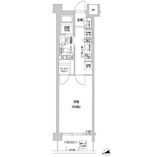 コンフォリア目黒青葉台121号室