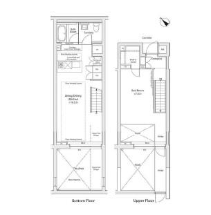 カスタリア初台Ⅱ108号室