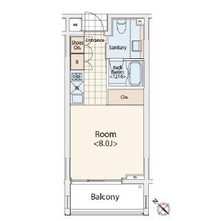 カスタリア初台Ⅱ206号室