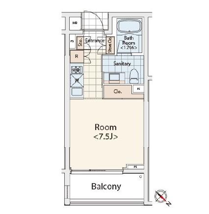 カスタリア初台Ⅱ214号室