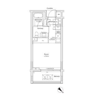 カスタリア初台Ⅱ215号室