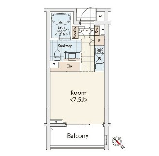 カスタリア初台Ⅱ311号室