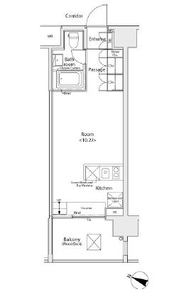 イプセ学芸大学404号室