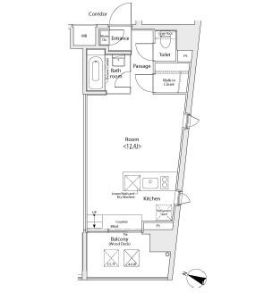 イプセ学芸大学408号室